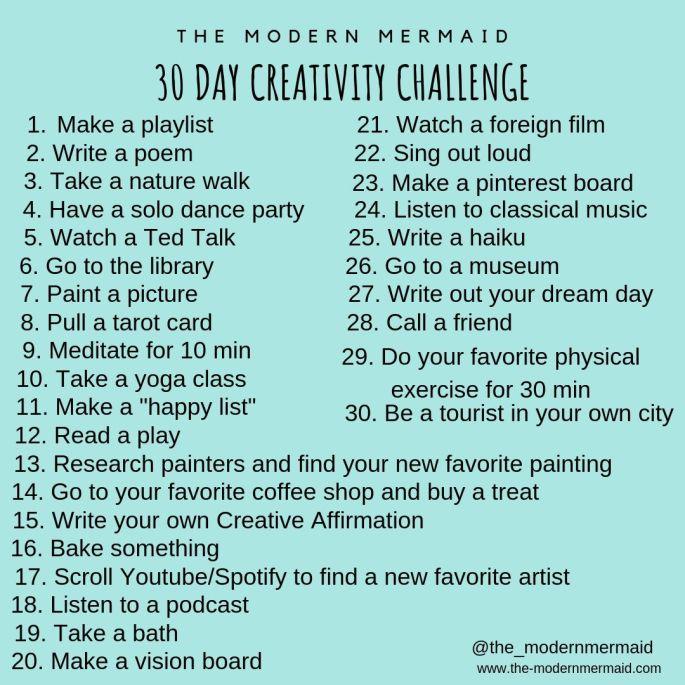 30 day creativity challenge (1)